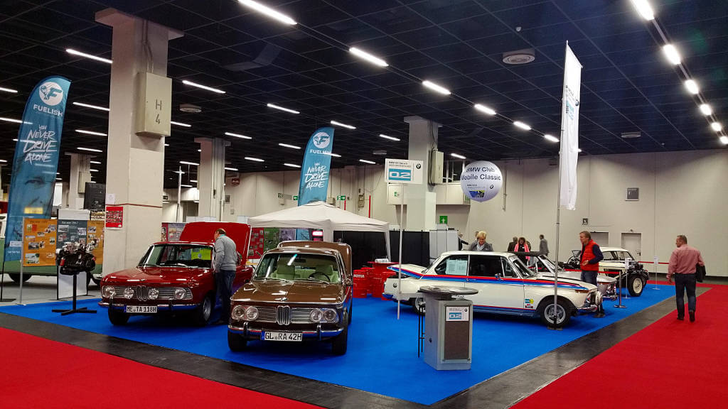 Ahrend02Tuning Retro Classics Cologne 2017 automobail show  BMW02 Powerd by Motul